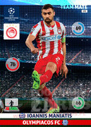 2014/15 CHAMPIONS LEAGUE® TEAM MATE Ioannis Maniatis #193