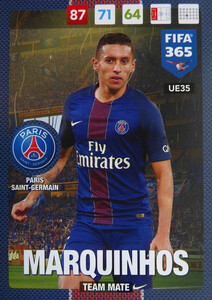 UPDATE 2017 FIFA 365 TEAM MATE Marquinhos #35
