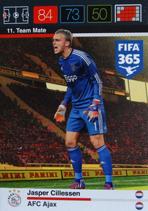 2016 FIFA 365 TEAM MATE AFC AJAX  Cillessen 11