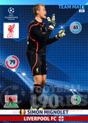2014/15 CHAMPIONS LEAGUE® TEAM MATE Simon Mignolet #154