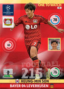 2014/15 CHAMPIONS LEAGUE® ONE TO WATCH   Heung-Min Son #88