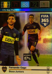 2016 FIFA 365 KEY PLAYER Fernando Gago #173