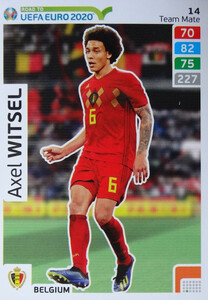 ROAD TO EURO 2020 TEAM MATE Axel Witsel 14