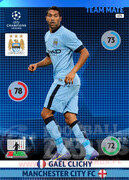 2014/15 CHAMPIONS LEAGUE® TEAM MATE Gaël Clichy #173