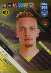 2019 FIFA 365 FANS IMPACT SIGNING  Marius Wolf #121