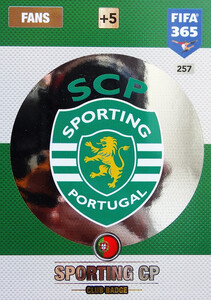 2017 FIFA 365 CLUB LOGO Sporting CP #257