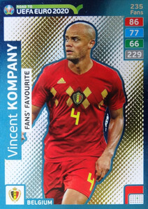 ROAD TO EURO 2020 FANS FAVOURITE  Vincent Kompany #235