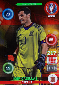 EURO 2016 GOL STOPPER  Iker Casillas #101