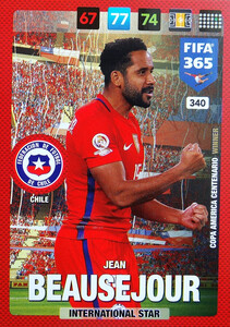 2017 FIFA 365 NATIONAL TEAM   Jean Beausejour #340