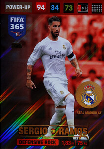 2017 FIFA 365 DEFENSIVE ROCK Sergio Ramos #354