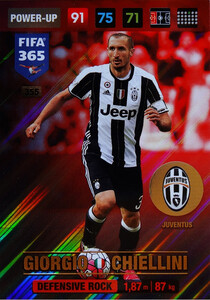 2017 FIFA 365 DEFENSIVE ROCK Giorgio Chiellini #355