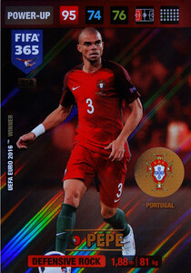 2017 FIFA 365 DEFENSIVE ROCK  Pepe #358