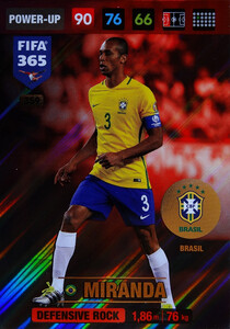 2017 FIFA 365 DEFENSIVE ROCK  Miranda #359