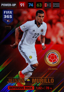 2017 FIFA 365 DEFENSIVE ROCK Jeison Murillo #360