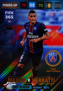 2017 FIFA 365 KEY PLAYER Marco Verratti #362