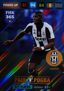 2017 FIFA 365 KEY PLAYER Paul Pogba #364