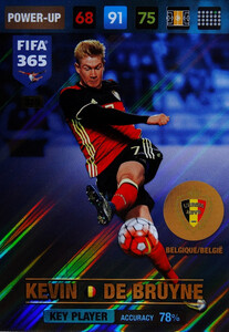 2017 FIFA 365 KEY PLAYER  Kevin De Bruyne  #365