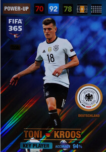 2017 FIFA 365 KEY PLAYER Toni Kroos #366