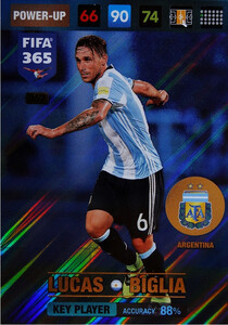 2017 FIFA 365 KEY PLAYER Lucas Biglia #367
