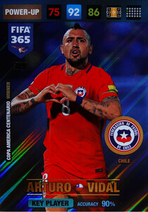 2017 FIFA 365 KEY PLAYER  Arturo Vidal #368