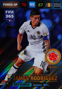 2017 FIFA 365 KEY PLAYER James Rodriguez #369