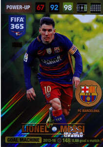 2017 FIFA 365 GOAL MACHINE Lionel Messi  #371