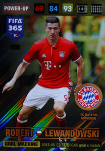 2017 FIFA 365 GOAL MACHINE Robert Lewandowski #374