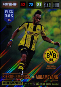 2017 FIFA 365 GOAL MACHINE Pierre-Emerick Aubameyang #375