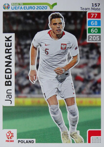 ROAD TO EURO 2020 TEAM MATE Jan Bednarek 157
