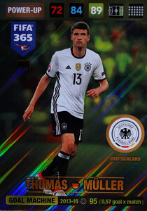 2017 FIFA 365 GOAL MACHINE Thomas Müller #376