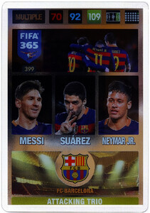 2017 FIFA 365 ATTACKING TRIO 	Messi / Suárez / Neymar Jr. #399