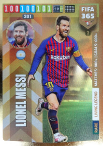 2020 FIFA 365 RARE LEGEND Lionel Messi #2