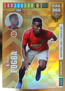 2020 FIFA 365 RARE TOP MASTER Paul Pogba #6