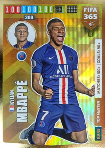 2020 FIFA 365 RARE TOP MASTER Kylian Mbappe #8