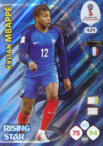 WORLD CUP RUSSIA 2018 RISING STAR MBAPPE 424