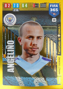 2020 FIFA 365 IMPACT SIGNING Angeliño #50