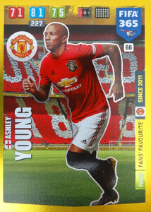 2020 FIFA 365 FANS FAVOURITE Ashley Young #66