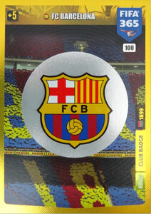 2020 FIFA 365 CLUB BADGE LOGO FC Barcelona #100