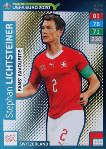 ROAD TO EURO 2020 FANS FAVOURITE Stephan Lichtsteiner #271