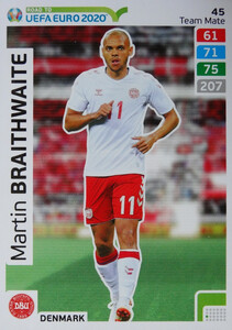 ROAD TO EURO 2020 TEAM MATE Martin Braithwaite 45