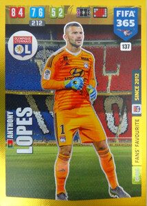 2020 FIFA 365 FANS FAVOURITE Anthony Lopes #137