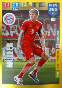 2020 FIFA 365 FANS FAVOURITE Thomas Müller  #174