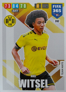 2020 FIFA 365 TEAM MATE Axel Witsel #202