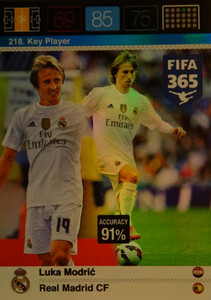 2016 FIFA 365 KEY PLAYER Luka Modrić #218