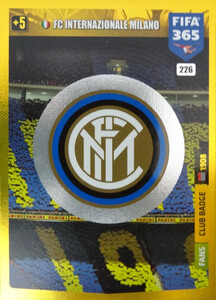 2020 FIFA 365 CLUB BADGE LOGO FC Internazionale Milano #226