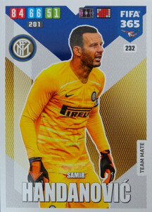 2020 FIFA 365 TEAM MATE  Samir Handanovic #232
