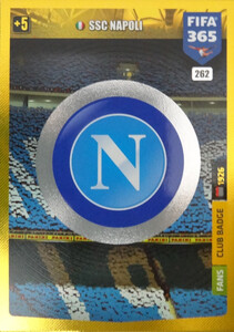 2020 FIFA 365 CLUB BADGE LOGO SSC Napoli #262