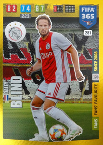 2020 FIFA 365 FANS FAVOURITE  Daley Blind #281