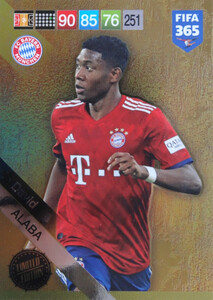 2019 FIFA 365 UPDATE LIMITED EDITION ALABA