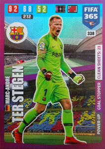2020 FIFA 365 POWER UP GOAL STOPPER  Marc-André ter Stegen #338